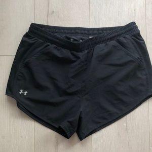 Under Armour Black Heatgear Shorts